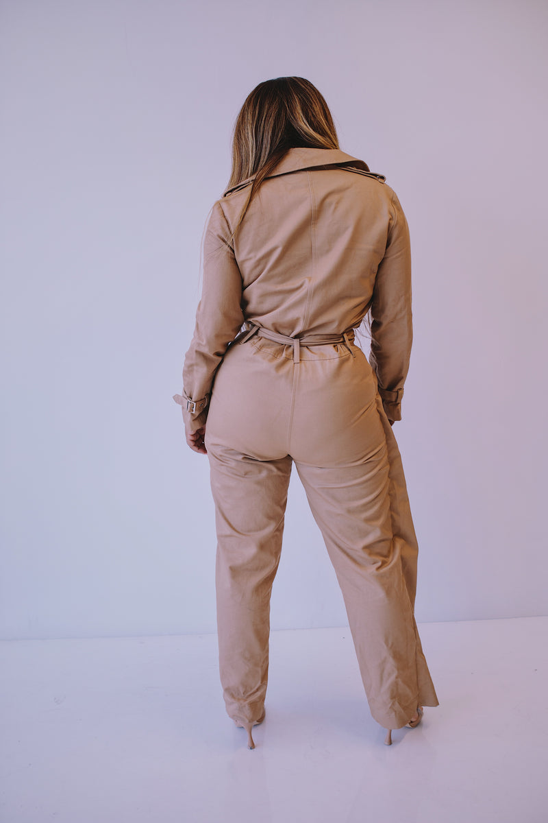 Half The Trench | Jumpsuit