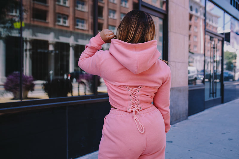 Sporty Spice | Crop Sweat Suit ESTIMATED SHIP DATE 6/15-6/20