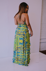 Playing Games | Maxi Split Dress