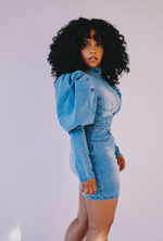 Big Talk | Denim Dress ESTIMATED SHIP DATE (7/30)