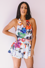 Honolulu Hottie | Floral Romper