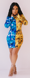 Gemini | Bodycon Dress ESTIMATED SHIP DATE 8/30-9/5