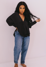 Silky Smooth | Oversized Satin Shirt