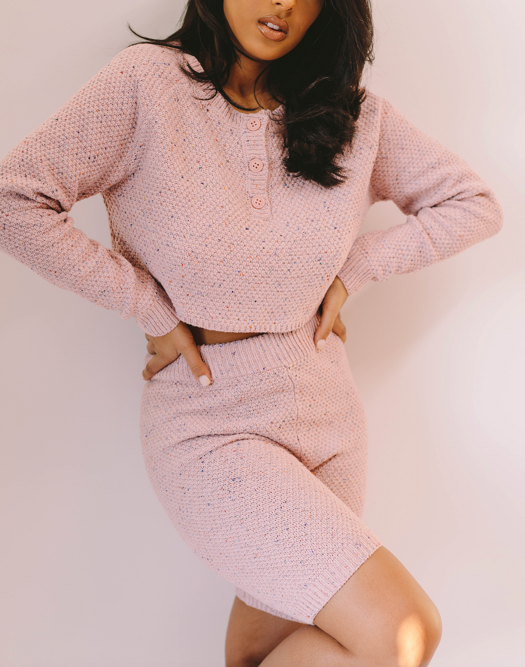Netflix & Chill | Knit Two Piece Set