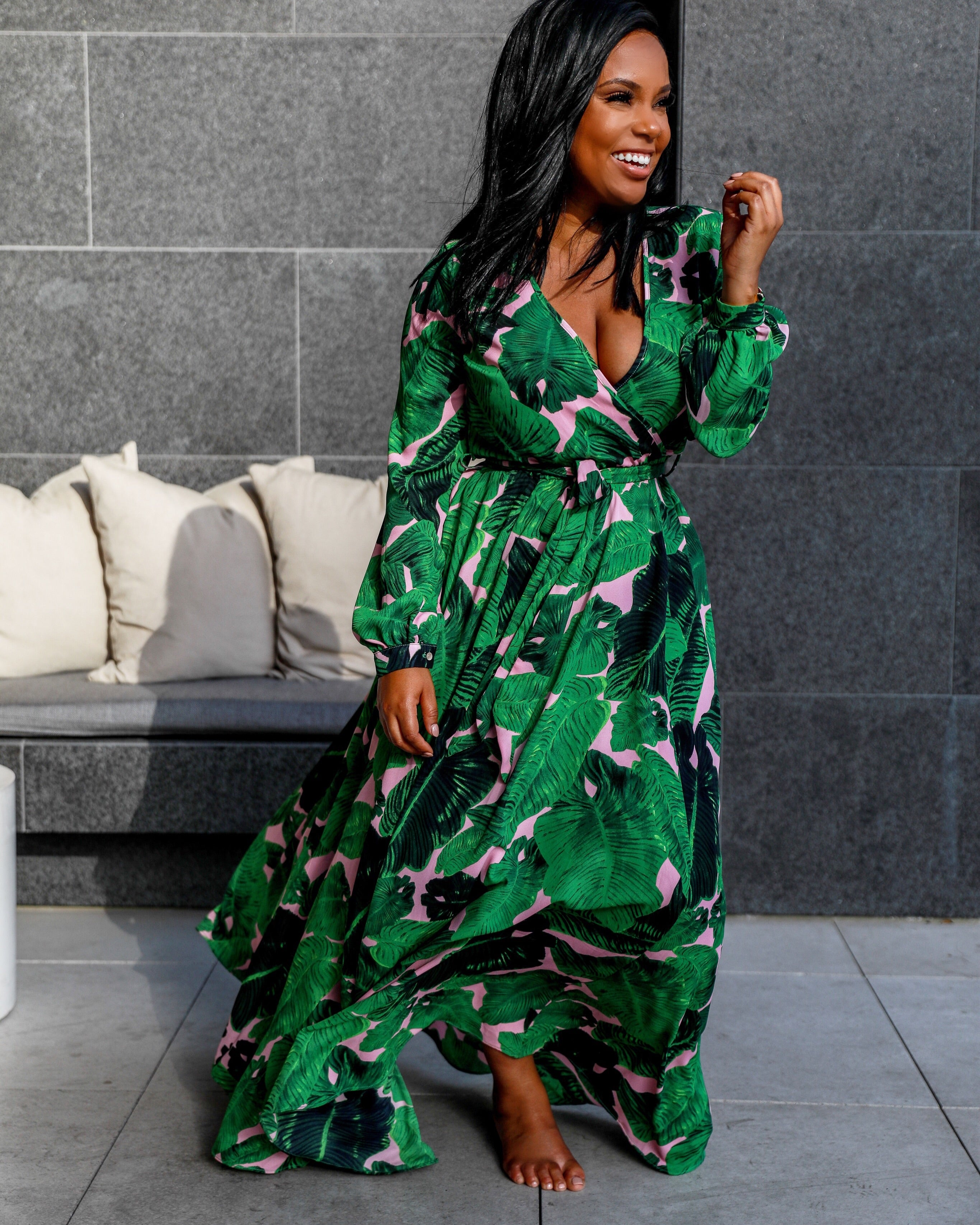 In The Palms | Maxi Dress
