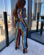 Taste the Rainbow | Sequin Jumpsuit