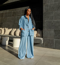 Max and Relax | Denim Suit