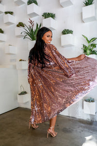 Eat my Dust | Sequins Duster