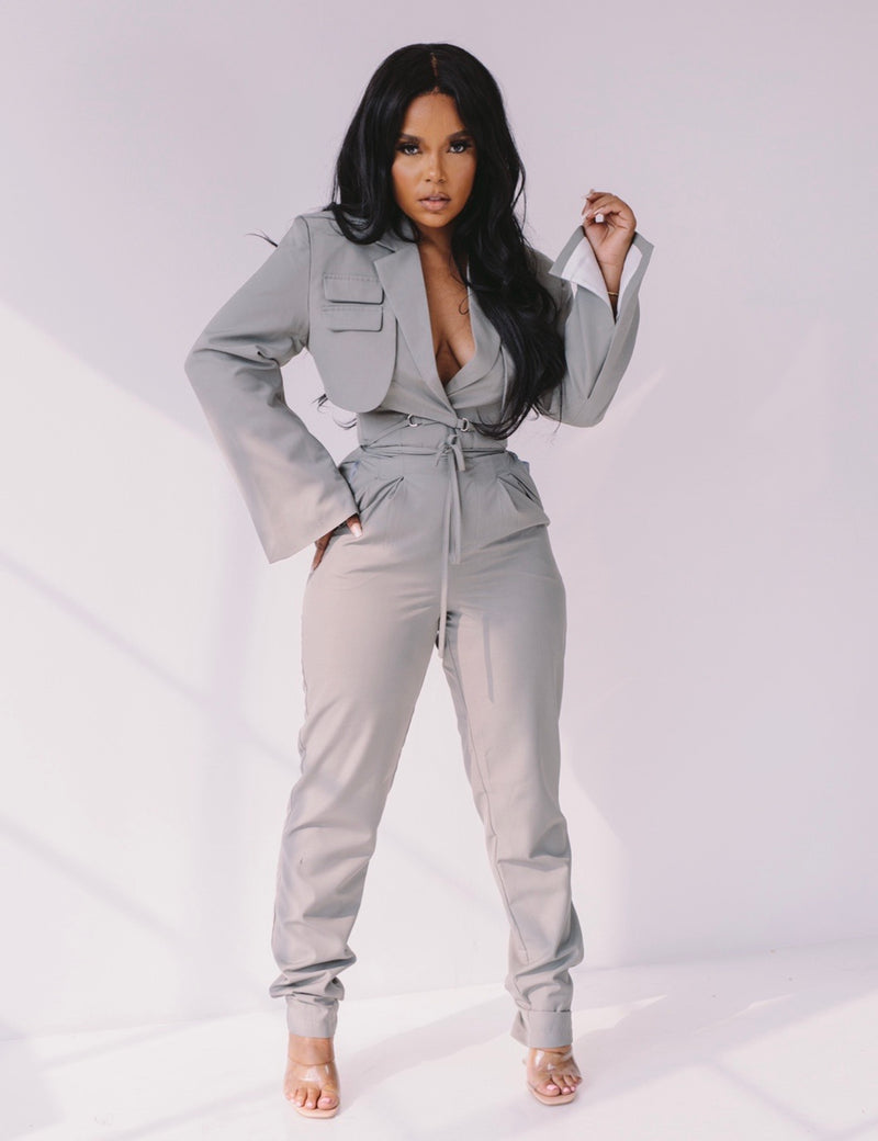 Workin Overtime | Pant Suit Set ships 10/15-10/24