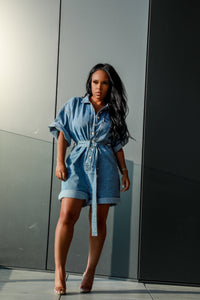 Denim Darlin | Denim Romper