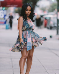 Saucy in the City | Button Up Dress