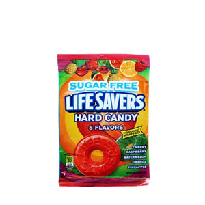 5 Flavor Sugar-Free Life Savers 78g