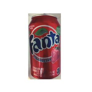 Fanta Strawberry 355ml/ 12 fl oz