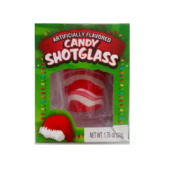 Candy Canes Shot Glass 50g/1.76oz