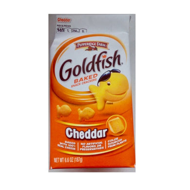 Pepperidge Farm Goldfish Cheddar 187g/6.6oz