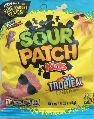 Sour Patch Kids Tropical 141g/5oz
