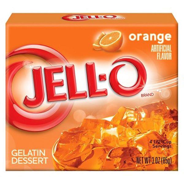 jello orange jeleu portocale
