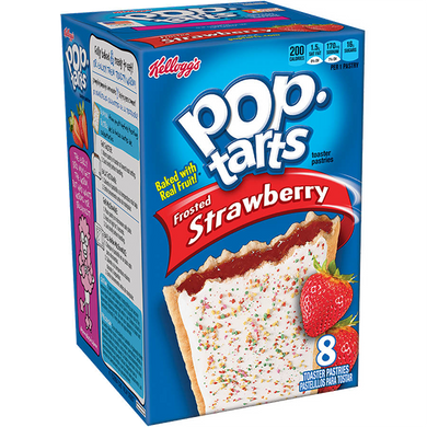 Kellogg's Pop Tarts Frosted Strawberry 416g / 14.7oz