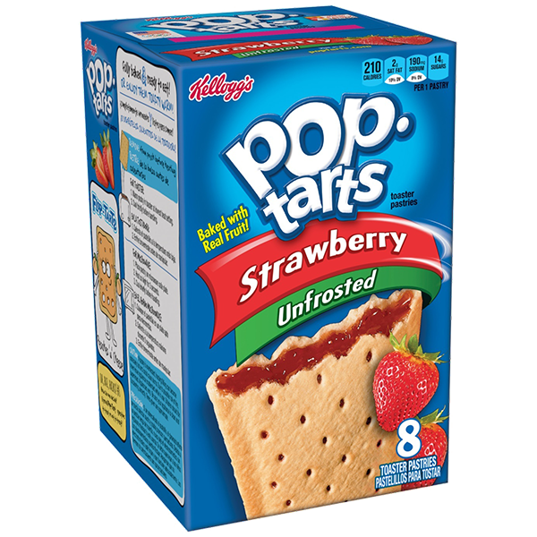 Pop Tarts Strawberry cu capsuni