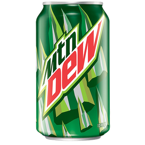 suc american carbogazos Mountain Dew