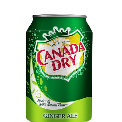 Canada Dry Ginger Ale 355ml/12fl oz
