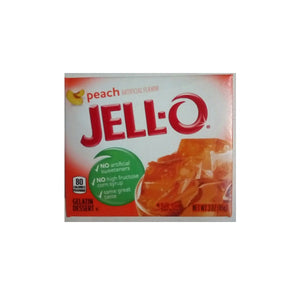 Jello Peach 85g/3oz