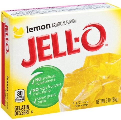 Jello Lemon 85g / 3oz
