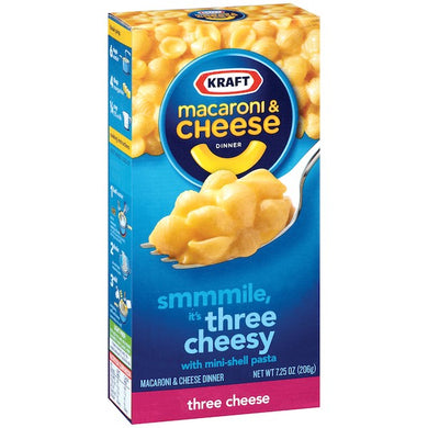 macaroni cheese three cheesy