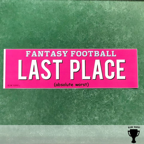 Last Place Bumper Sticker - Final Fantasy Punishment