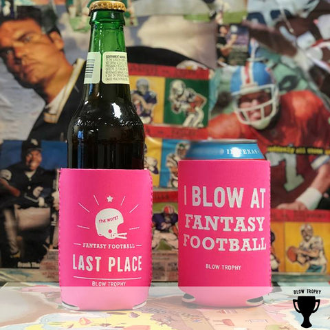 Last Place Fantasy Football Koozie - Fantasy Football Punishment Koozie