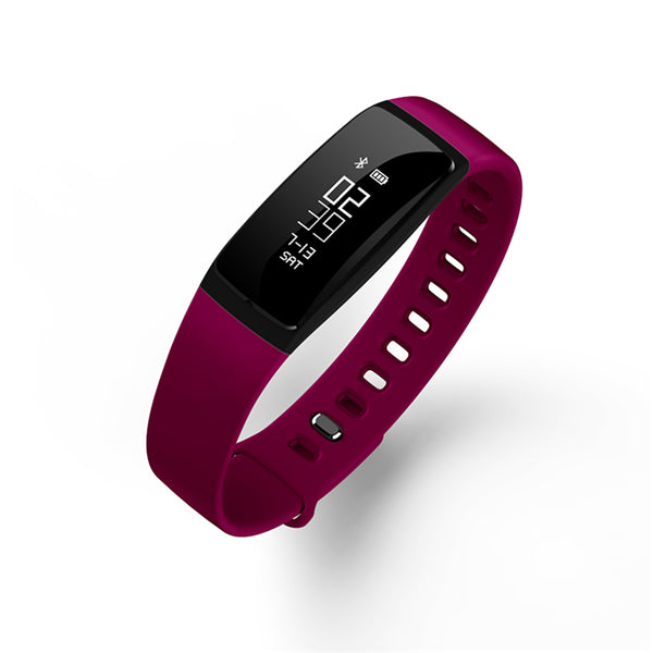 Smart Bluetooth Fitness, Heart & Blood Pressure Watch Band