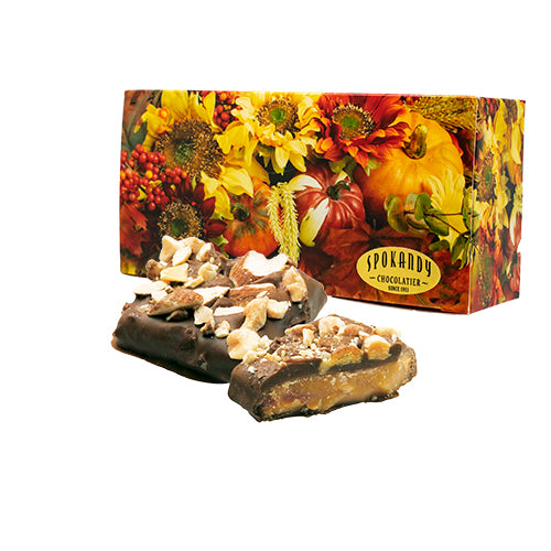 English Almond Toffee, Milk Chocolate, Autumn Box