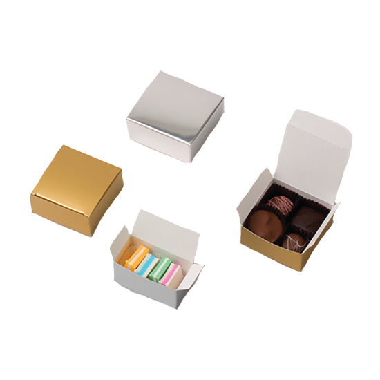 2 pc Chocolate favor box (20 PK)