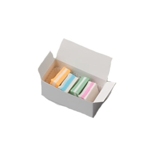 4 piece Pastel Mint favor box