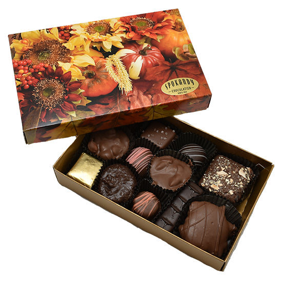 8 oz Premium Assorted Selection Autumn Box