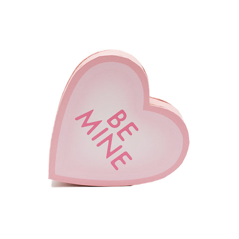 4 oz - Premium chocolates in pink be mine heart