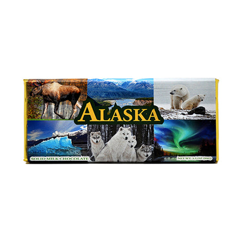 Alaska, Milk Chocolate Bar