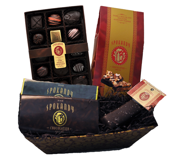 Dark Chocolate Lover's Gift Basket