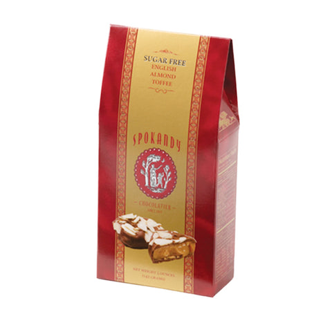 Sugar Free English Almond Toffee