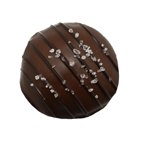 Sea Salt Milk Chocolate Mousse Truffle