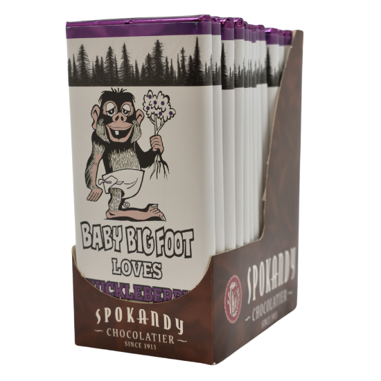 12 Baby Bigfoot Candy Bars