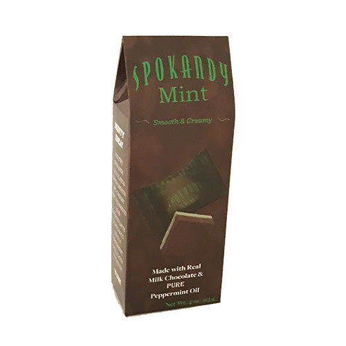4 oz Chocolate & Green Mint Tote