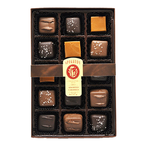 15 pc Assorted Caramels Gift Box