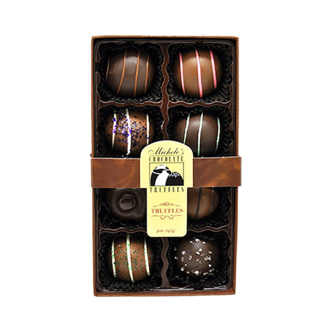 8 pc Truffle Assortment Gift Box