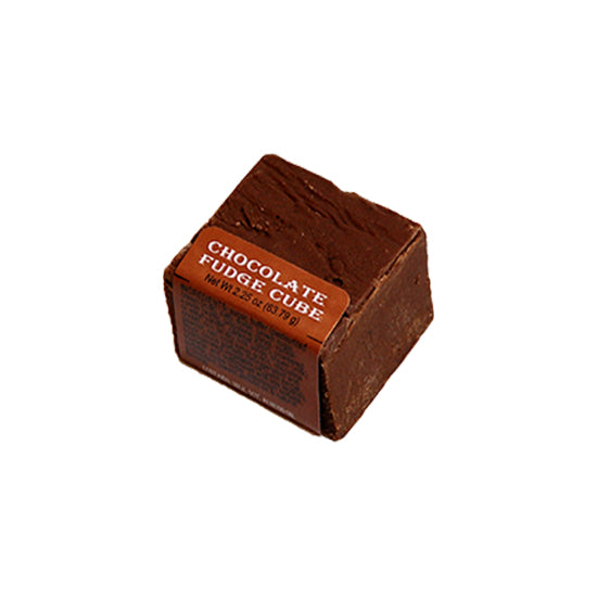 Chocolate Fudge Cube