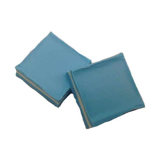 16 oz Blue White Blue Pastel Mints