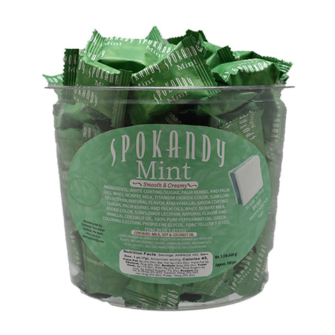 White Green White Mint Tub