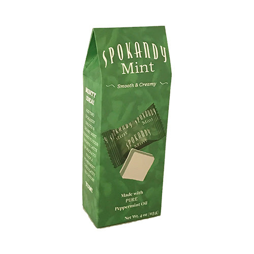 4 oz White Green White Mint Tote