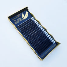 Black Feather Lash Pallet     -    CC CURL