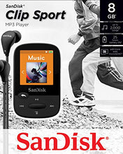SanDisk Clip Sport 8 GB MP3 Player - Black